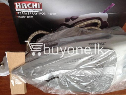 hachi steam spray iron home and kitchen home appliances brand new buyone lk avurudu sale offer sri lanka 3 510x383 - Hachi Steam Spray Iron