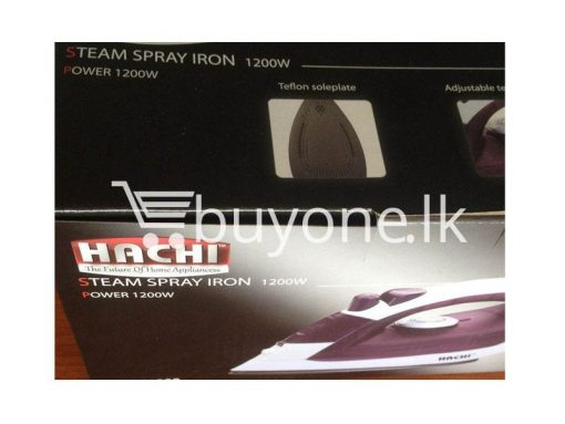 hachi steam spray iron home and kitchen home appliances brand new buyone lk avurudu sale offer sri lanka 510x383 - Hachi Steam Spray Iron