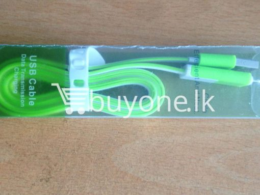 usb data transmission and charging cable mobile store mobile phone accessories brand new buyone lk avurudu sale offer sri lanka 4 510x383 - USB Data Transmission and Charging Cable