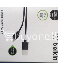 belkin chargersync cable lightning connector for iphone ipod mobile store mobile phone accessories brand new buyone lk avurudu sale offer sri lanka 247x296 - Belkin Charger/Sync Cable Lightning Connector for iPhone & iPod