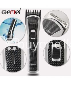 gemei gm656 washable rechargeable hair trimmer home appliances brand new buy one lk vesak sale offer sri lanka 247x296 - Gemei GM656 Washable + Rechargeable Hair Trimmer