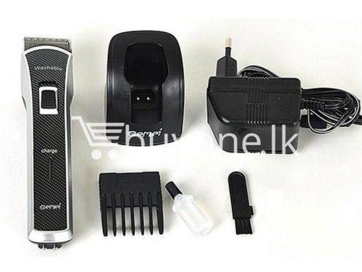 gemei gm656 washable rechargeable hair trimmer home appliances brand new buy one lk vesak sale offer sri lanka 5 510x383 - Gemei GM656 Washable + Rechargeable Hair Trimmer