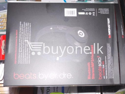 beats solo wireless bluetooth headphone hd mobile phone accessories brand new sale gift offer sri lanka buyone lk 7 510x383 - Beats Solo 2 Wireless Bluetooth Headphone HD