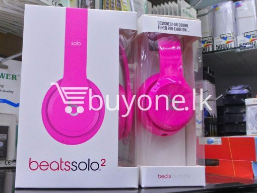 beats solo2 headphone with controltalk mobile phone accessories brand new sale gift offer sri lanka buyone lk 5 510x383 - Beats Solo2 Headphone with ControlTalk
