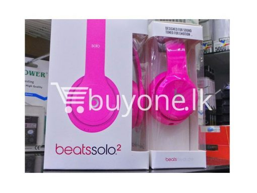 beats solo2 headphone with controltalk mobile phone accessories brand new sale gift offer sri lanka buyone lk 510x383 - Beats Solo2 Headphone with ControlTalk