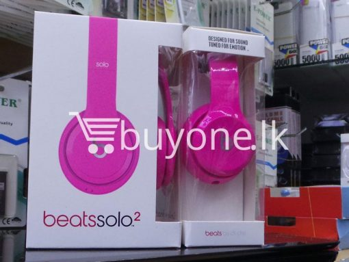 beats solo2 headphone with controltalk mobile phone accessories brand new sale gift offer sri lanka buyone lk 6 510x383 - Beats Solo2 Headphone with ControlTalk