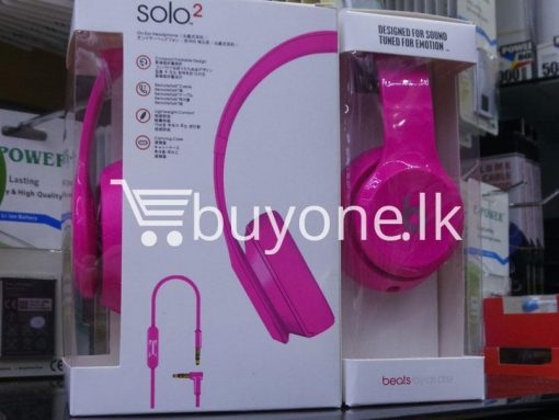 beats solo2 headphone with controltalk mobile phone accessories brand new sale gift offer sri lanka buyone lk 7 510x383 - Beats Solo2 Headphone with ControlTalk