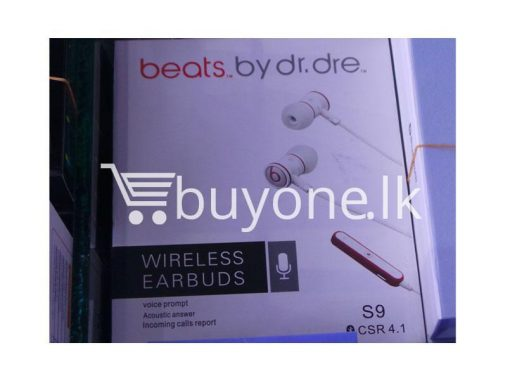 beats wireless bluetooth earbuds mobile phone accessories brand new sale gift offer sri lanka buyone lk 510x383 - Beats Wireless Bluetooth Earbuds