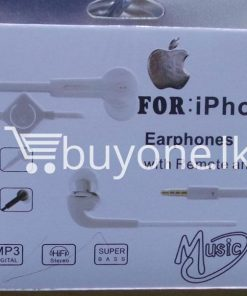 headphone for iphone with mic remote mobile phone accessories brand new sale gift offer sri lanka buyone lk 2 247x296 - Headphone for iPhone with Mic & Remote