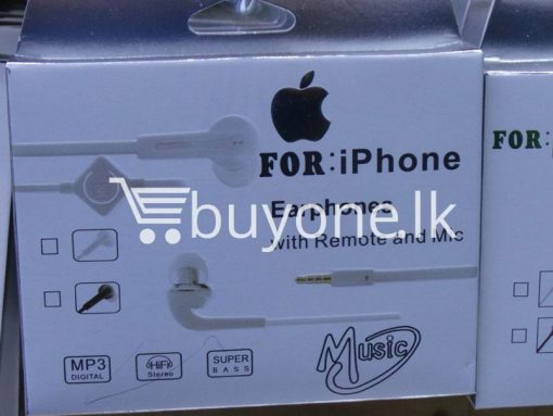 headphone for iphone with mic remote mobile phone accessories brand new sale gift offer sri lanka buyone lk 4 510x383 - Headphone for iPhone with Mic & Remote
