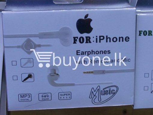 headphone for iphone with mic remote mobile phone accessories brand new sale gift offer sri lanka buyone lk 5 510x383 - Headphone for iPhone with Mic & Remote