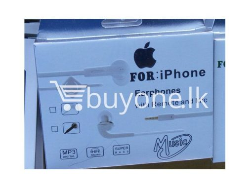 headphone for iphone with mic remote mobile phone accessories brand new sale gift offer sri lanka buyone lk 510x383 - Headphone for iPhone with Mic & Remote