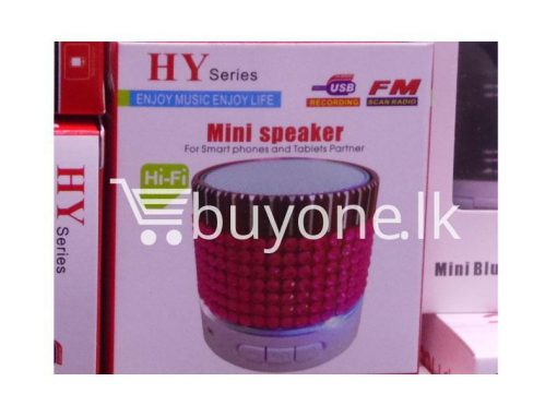 hy mini bluetooth speaker mobile phone accessories brand new sale gift offer sri lanka buyone lk  510x383 - HY Mini Bluetooth Speaker