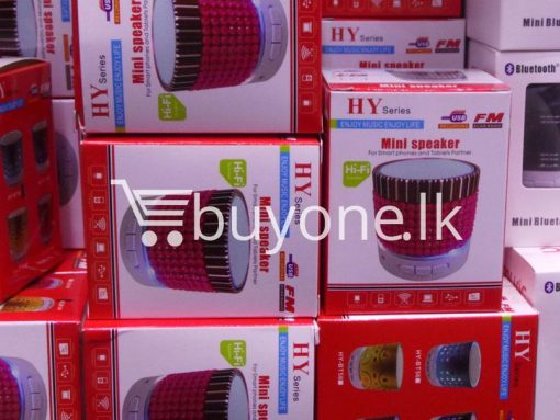 hy mini bluetooth speaker mobile phone accessories brand new sale gift offer sri lanka buyone lk 2 510x383 - HY Mini Bluetooth Speaker