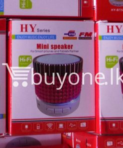 hy mini bluetooth speaker mobile phone accessories brand new sale gift offer sri lanka buyone lk 3 247x296 - HY Mini Bluetooth Speaker