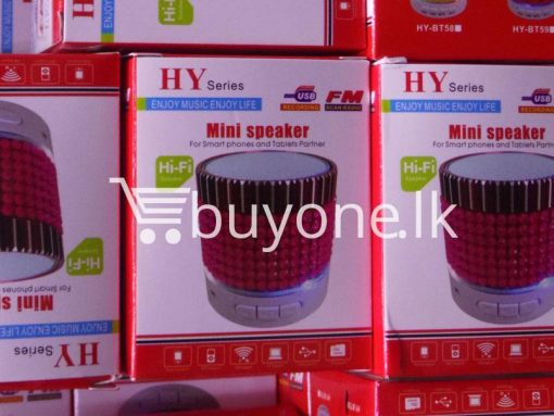 hy mini bluetooth speaker mobile phone accessories brand new sale gift offer sri lanka buyone lk 3 510x383 - HY Mini Bluetooth Speaker