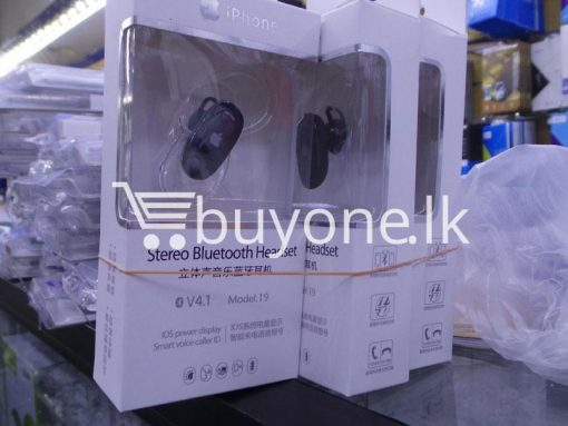 iphone smart stereo bluetooth headset mobile phone accessories brand new sale gift offer sri lanka buyone lk 3 510x383 - iPhone Smart Stereo Bluetooth Headset