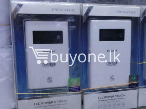 original pisen 7500mah digital lcd power bank mobile phone accessories brand new sale gift offer sri lanka buyone lk 3 510x383 - Original Pisen 7500mAh Digital LCD Mobile Power Bank