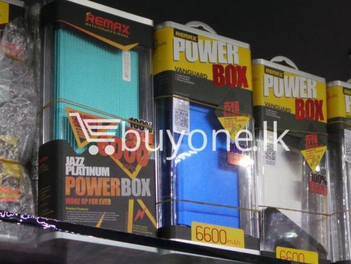 original remax 6600mah portable power bank mobile phone accessories brand new sale gift offer sri lanka buyone lk 4 510x383 - Original Remax 6600mAh Portable Power Bank