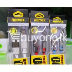 original remax data transfer cable 1000mm mobile phone accessories brand new sale gift offer sri lanka buyone lk 247x247 - Remax Data Transfer Cable 1000mm - 2in1