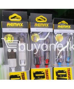 original remax data transfer cable 1000mm mobile phone accessories brand new sale gift offer sri lanka buyone lk 247x296 - Remax Data Transfer Cable 1000mm - 2in1
