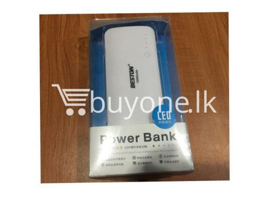 Original-Beston-Power-Bank-12000-mah-3-charging-socket-port-with-LED-Torch