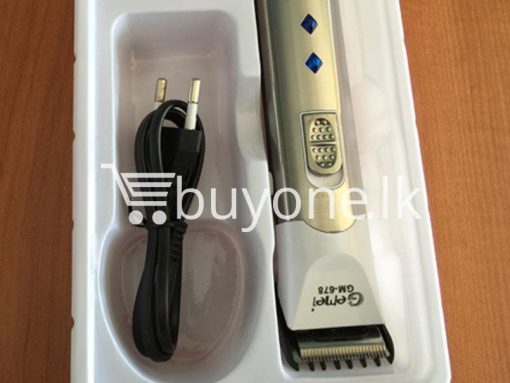 gemei professional hair trimmer make life better gm 678 best deals send gifts christmas offers buy one sri lanka 14 510x383 - Gemei Professional Hair Trimmer Make Life Better GM-678