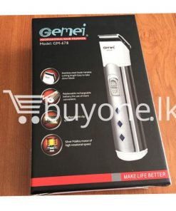 gemei professional hair trimmer make life better gm 678 best deals send gifts christmas offers buy one sri lanka 247x296 - Gemei Professional Hair Trimmer Make Life Better GM-678