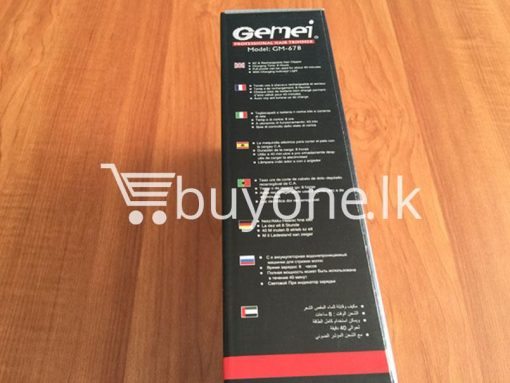gemei professional hair trimmer make life better gm 678 best deals send gifts christmas offers buy one sri lanka 3 510x383 - Gemei Professional Hair Trimmer Make Life Better GM-678