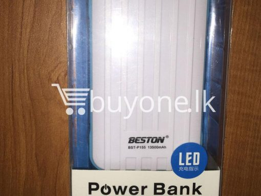 original beston power bank 13000 mah with dual socket port with led torch best deals send gift christmas offers buy one lk sri lanka 2 510x383 - Original Beston Power Bank 13500 mah with Dual socket port with LED Torch
