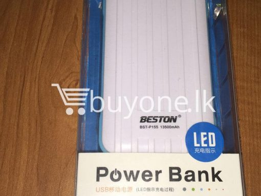 original beston power bank 13000 mah with dual socket port with led torch best deals send gift christmas offers buy one lk sri lanka 3 510x383 - Original Beston Power Bank 13500 mah with Dual socket port with LED Torch