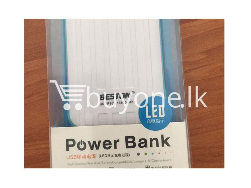 Original Beston Power Bank 13500 mah with Dual socket port with LED Torch