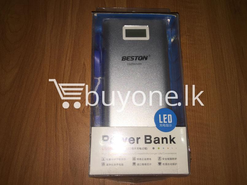 Original Beston Power Bank 19200 mah dual socket port with LED display