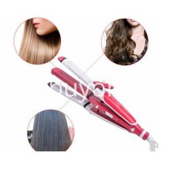 nova 3 in 1 hair professional straightener fast bun hair curler care dryer roller tourmaline ceramic send gift christmas seasonal offer sri lanka buyone lk 247x247 - Nova 3 in 1 Hair Professional Straightener Fast Bun Hair Curler Care Dryer Roller Tourmaline Ceramic Set