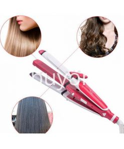 nova 3 in 1 hair professional straightener fast bun hair curler care dryer roller tourmaline ceramic send gift christmas seasonal offer sri lanka buyone lk 247x296 - Nova 3 in 1 Hair Professional Straightener Fast Bun Hair Curler Care Dryer Roller Tourmaline Ceramic Set