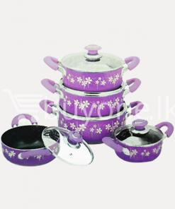 amilex nonstick casserole set 10 pieces home and kitchen special offer best deals buy one lk sri lanka 1453800432 247x296 - Amilex Nonstick Casserole Set (10 Pieces)