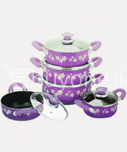 amilex nonstick casserole set 10 pieces home and kitchen special offer best deals buy one lk sri lanka 1453800432 247x296 - Amilex Nonstick Casserole Set (10 Pieces)