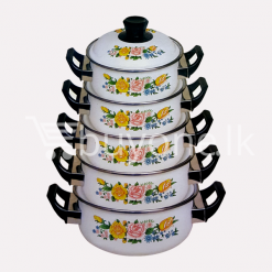 hachi 10pcs enamel ware set home and kitchen special offer best deals buy one lk sri lanka 1453801496 247x247 - Hachi 10Pcs Enamel Ware Set