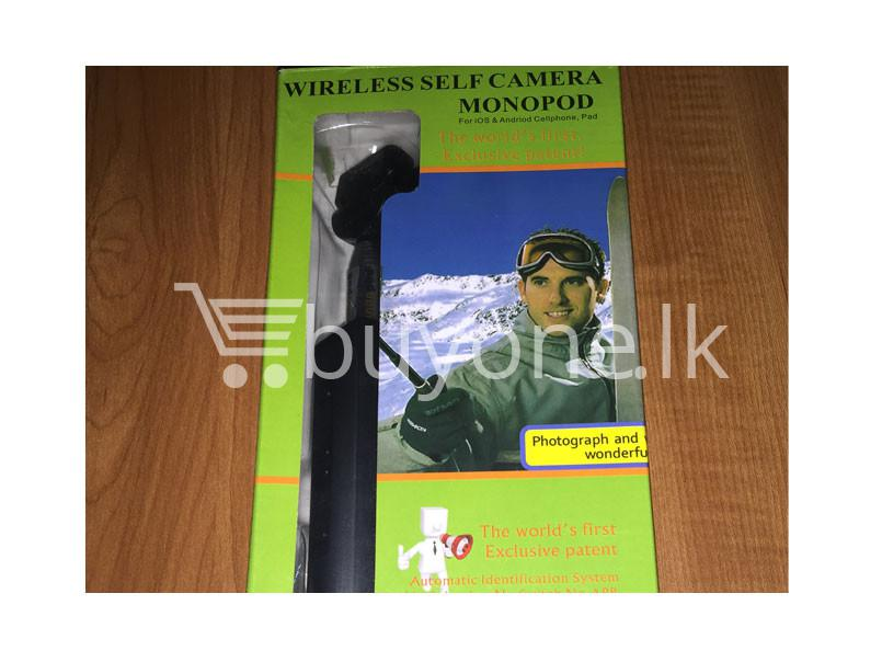 Best Deal Selfie Stick With Bluetooth Buitin Remote Button Zoom