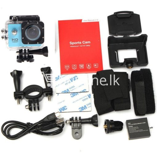 11in1 action camera 12mp hd 1080p 1.5inch lcd diving waterproof sport dv with bicycle stand and helmet base cameras accessories special best offer buy one lk sri lanka 77578 510x510 - 11in1 Action Camera 12MP HD 1080P 1.5inch LCD Diving Waterproof Sport DV with bicycle stand and Helmet base