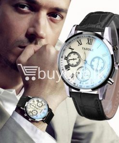 luxury fashion mens blue ray glass quartz analog watch men watches special best offer buy one lk sri lanka 10948 247x296 - Luxury Fashion Mens Blue Ray Glass Quartz Analog Watch