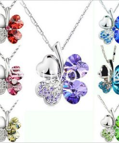 new 2016 silver crystal pendant chain necklace valentine gift jewelry store special best offer buy one lk sri lanka 12671 247x296 - New 2016 Silver Crystal Pendant Chain Necklace Valentine Gift