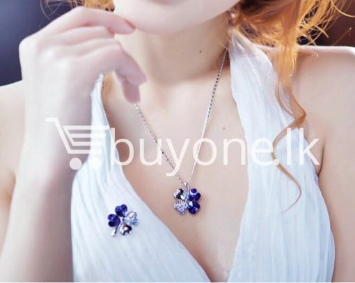 new 2016 silver crystal pendant chain necklace valentine gift jewelry store special best offer buy one lk sri lanka 12672 1 510x406 - New 2016 Silver Crystal Pendant Chain Necklace Valentine Gift