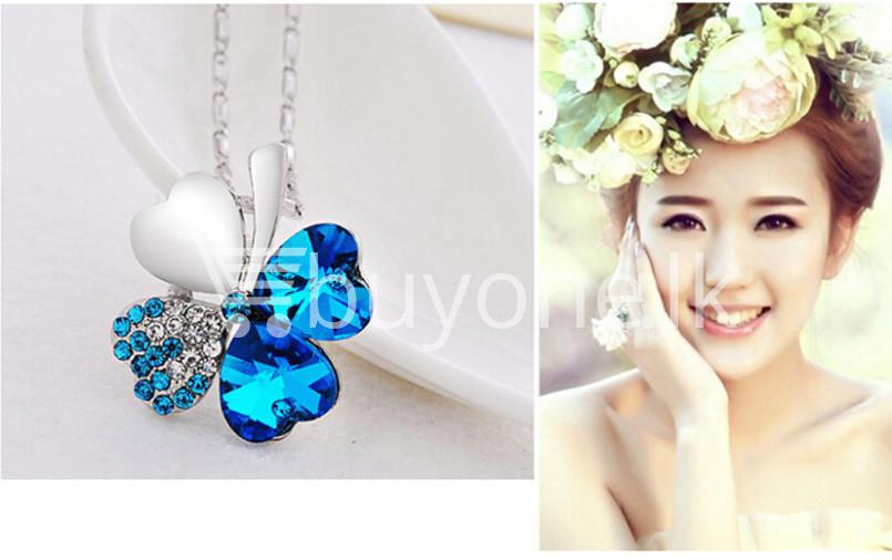 Best Deal New 2016 Silver Crystal Pendant Chain Necklace Valentine