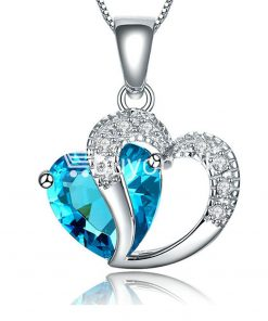 new crystal pendant necklaces heart chain valentine gifts jewelry store special best offer buy one lk sri lanka 11939 247x296 - New Crystal Pendant Necklaces Heart Chain Valentine Gifts