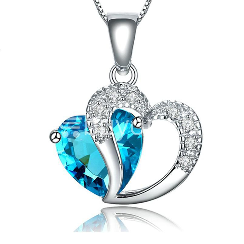 Best Deal New Crystal Pendant Necklaces Heart Chain Valentine