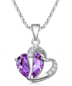 new crystal pendant necklaces heart chain valentine gifts jewelry store special best offer buy one lk sri lanka 11940 247x296 - New Crystal Pendant Necklaces Heart Chain Valentine Gifts