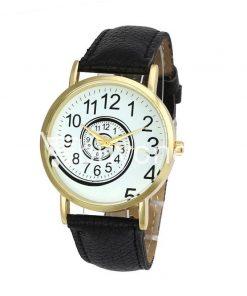 spiral design pattern quartz wrist watch watch store special best offer buy one lk sri lanka 09052 247x296 - Spiral Design Pattern Quartz Wrist Watch