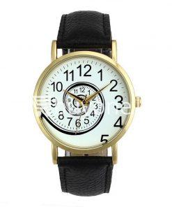 spiral design pattern quartz wrist watch watch store special best offer buy one lk sri lanka 09053 247x296 - Spiral Design Pattern Quartz Wrist Watch