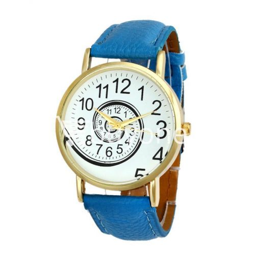 spiral design pattern quartz wrist watch watch store special best offer buy one lk sri lanka 09054 2 510x510 - Spiral Design Pattern Quartz Wrist Watch